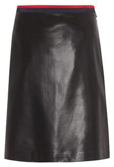 Gucci Leather skirt