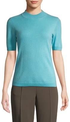 Diane von Furstenberg Women's Cashmere Mockneck Pullover
