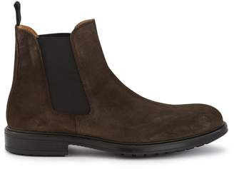 Officine Generale Leather ankle boots