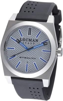 Locman Amazon Exclusive Men's 201SLKVL Quartz Stealth Sports Watch