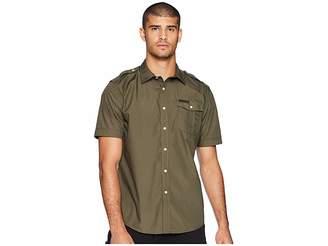 Sean John Short Sleeve Solid Shirt Men's Clothing