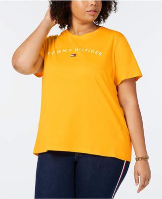 be37f3b90cf Tommy Hilfiger Plus Size Logo Graphic T-Shirt