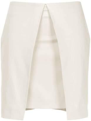 Aalto a-line shape mini skirt