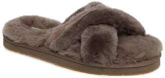 UGG Abela Genuine Shearling Flip Flop
