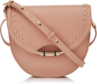 Jimmy Choo CHRISSY Ballet Pink Nappa Leather Cross Body Bag