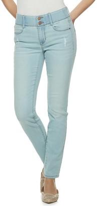 19c1291217 Apt. 9 Women's Tummy Control Midrise Straight-Leg Jeans