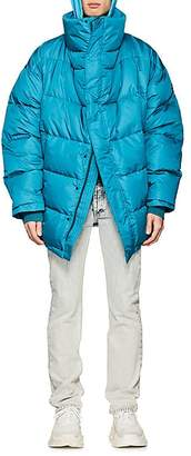 Balenciaga Men's Down-Quilted Oversized Puffer Coat