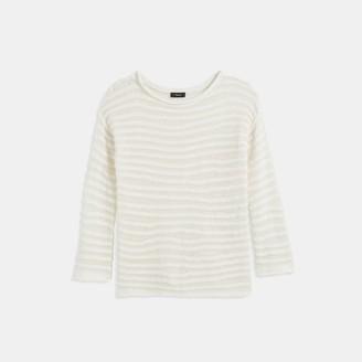 Linked Stripe Pullover