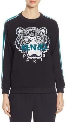 Kenzo Embroidered Tiger Icon Track Sweatshirt