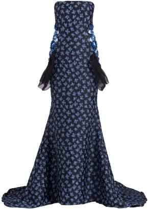 Razan Alazzouni Strapless Gown