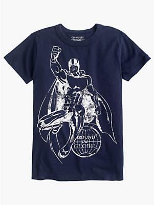 J.Crew crewcuts by Boys' Superhero T-Shirt, Navy