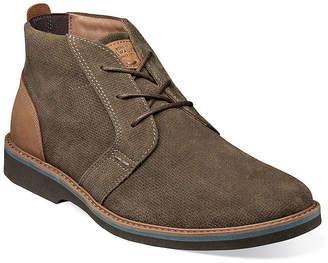 Nunn Bush Mens Barklay Chukka Boots Flat Heel