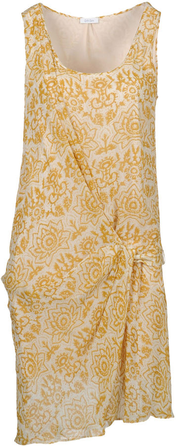 Gold Case 3/4 length dresses