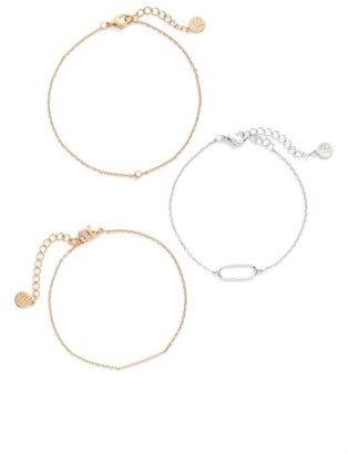 Women's Jules Smith Set Of 3 Bracelets $48 thestylecure.com