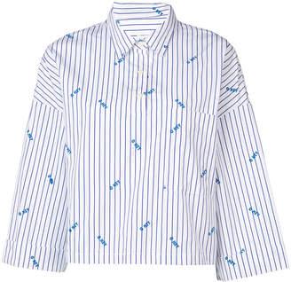 Kule The Keaton embroidered shirt
