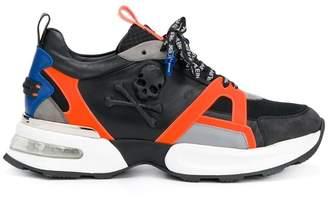 Philipp Plein low-top skull sneakers