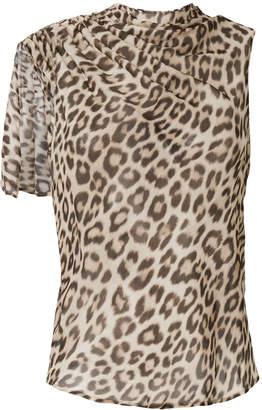 Twin-Set leopard print tank top
