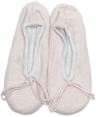 Ember Ballerina Cashmere Blend Slippers