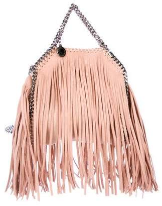 Stella McCartney Mini Fringe-Accented Falabella Bag