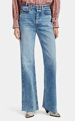 GRLFRND Women's Carla Wide-Leg Jeans - Blue