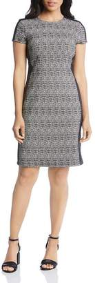 Karen Kane Plaid Knit Dress