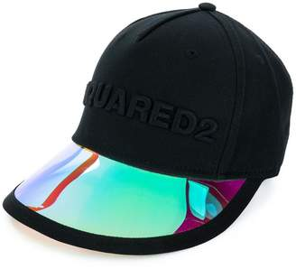 DSQUARED2 visor detail cap