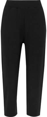 Varley Catherine Cropped Stretch-jersey Track Pants