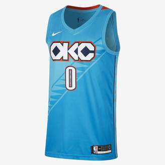 55f2e83c976 Nike Russell Westbrook City Edition Swingman (Oklahoma City Thunder) Men s  NBA Connected Jersey