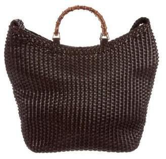da7aee72ccf Brown Bamboo Handle Handbags - ShopStyle