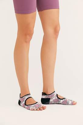 Free People Toesox Bellarina Low Rise Half Toe Mantra Grip Sock