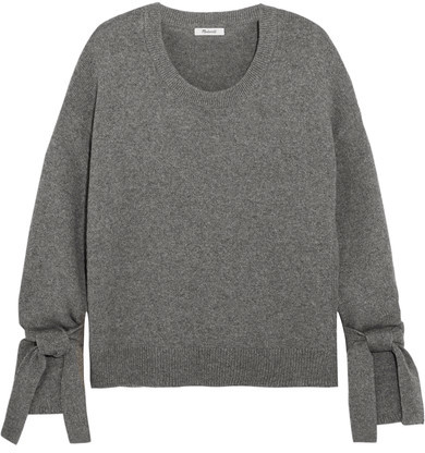 Madewell - Cotton-blend Sweater - Gray