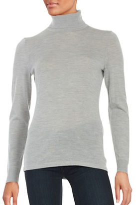 Lord & Taylor Merino Wool Turtleneck Sweater $49.95 thestylecure.com