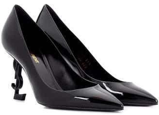 Saint Laurent Opyum 85 patent leather pumps