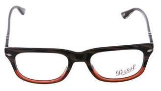 Persol Marbled Rectangular Eyeglasses