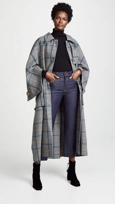 Awake Open Raglan Sleeve Pocket Coat