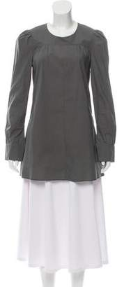 Marni Long Sleeve Ruched Tunic