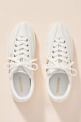 Tretorn Nylite Silver Check Sneakers