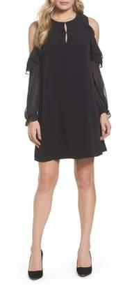 CeCe Isabella Cold Shoulder Shift Dress