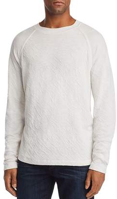 7 For All Mankind Long-Sleeve Double-Knit Raglan Tee
