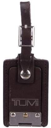 Tumi Leather Luggage Tag