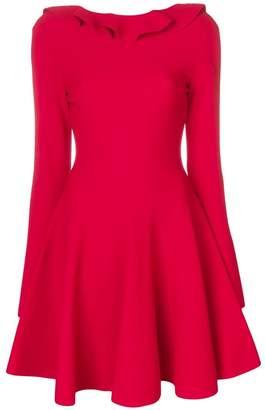 Valentino ruffled collar dress
