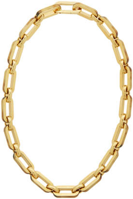 Burberry Gold Horn Chain Necklace