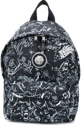 Versus printed backpack