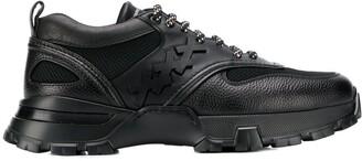 Ermenegildo Zegna 'xxx' printed sneakers