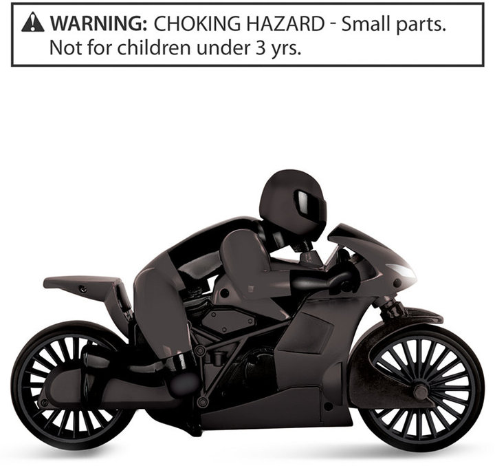 Black Series Remote Control Motorcycle