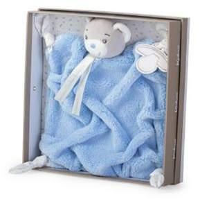 Kaloo Plume Doudou Comforter - Bear Blue