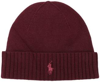 Ralph Lauren knitted logo hat