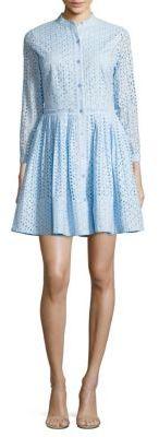 MICHAEL MICHAEL KORS Daisy Eyelet Shirtdress $250 thestylecure.com