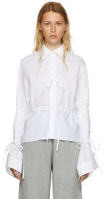 Maison Margiela White String Shirt