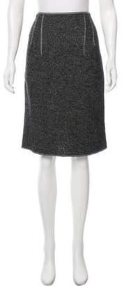 Saint Laurent Knee-Length Knit Skirt